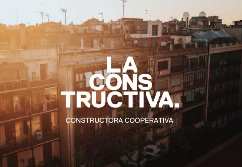 La Constructiva és la primera constructora de l'economia solidària, una iniciativa promoguda per Sostre Cívic que permet començar a entrar en un sector tan clau i alhora tan complex com el de la construcció.